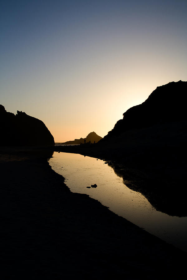 Pfeiffer Beach Photograph - Reflections by Kunal Ghate