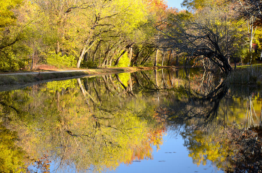 Autumn Photograph - Reflections Of Autumn by Kathi Isserman