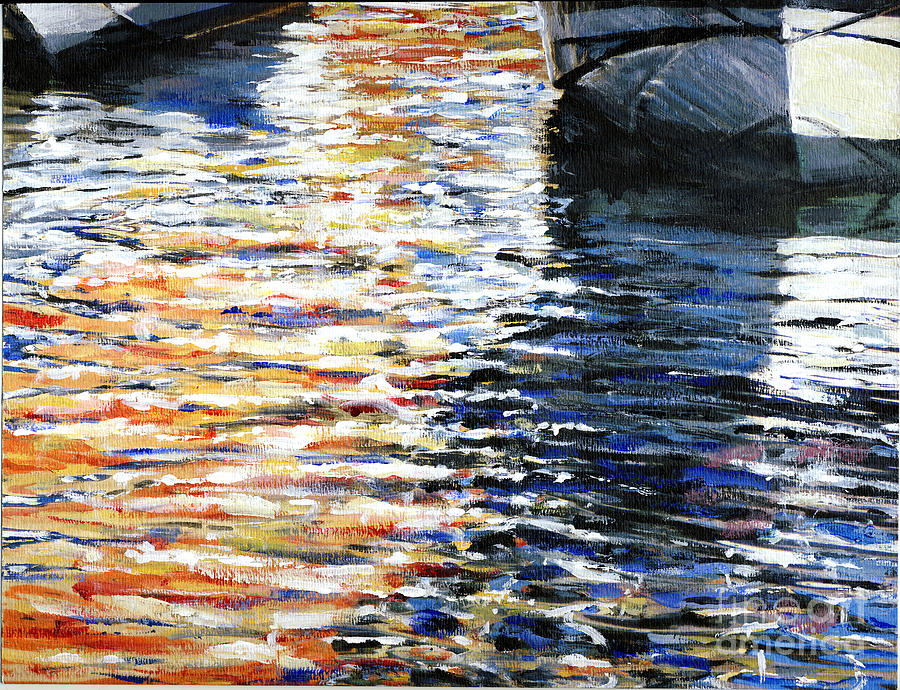 California Painting - Reflections of CYC by Randy Sprout