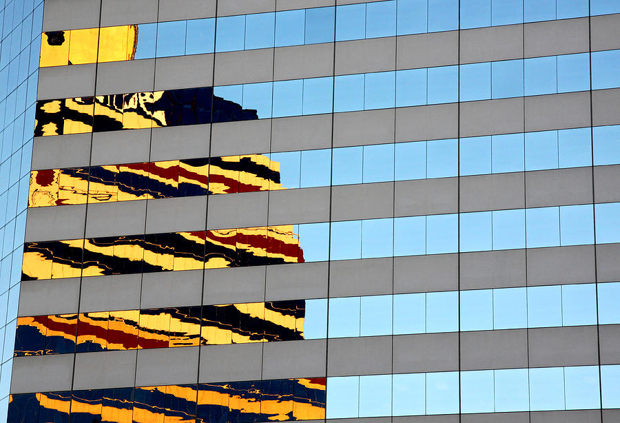 Reflections of Downtown by Ross Lewis