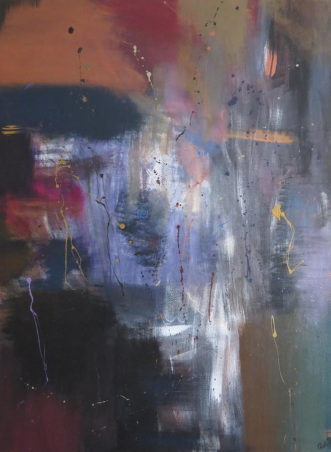 Abstract Painting - Reflections Of Me by Robyn Punko