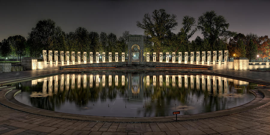 Metro Photograph - Reflections Of The Atlantic Theater by Metro DC Photography