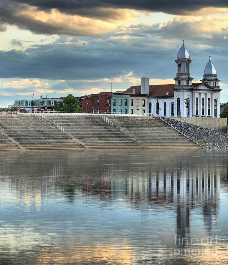 Lock Haven Photograph - Reflections Of The Courthouse by Adam Jewell