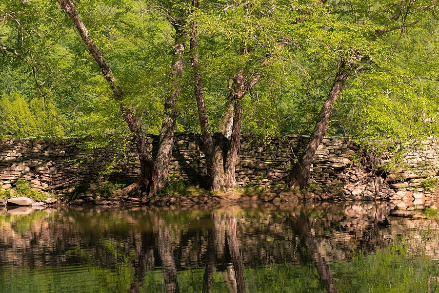 Creek Photograph - Reflections Of The Past by Scott Hafer