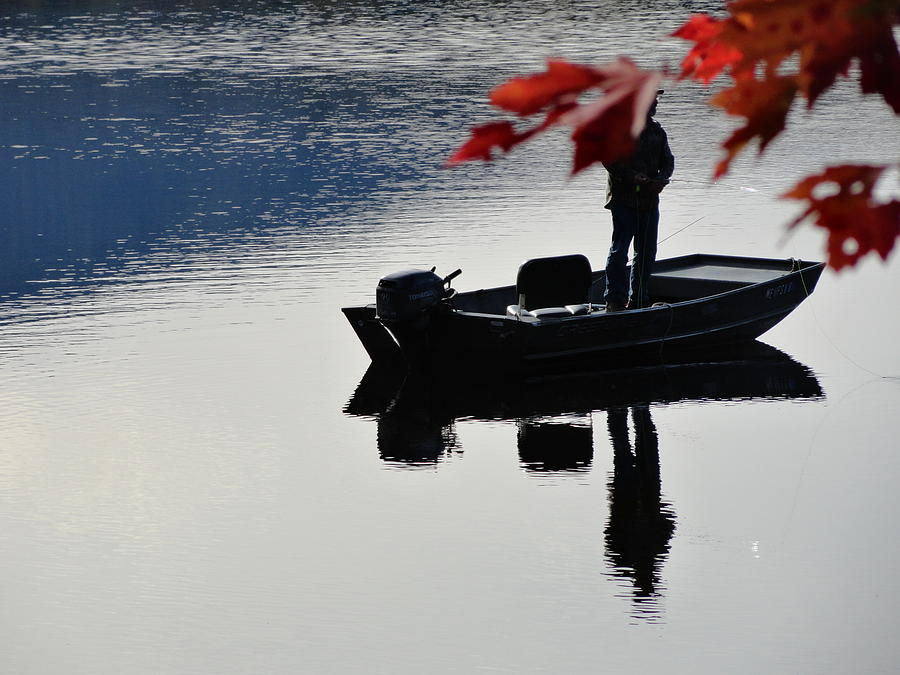 Reflections On Fishing Photograph