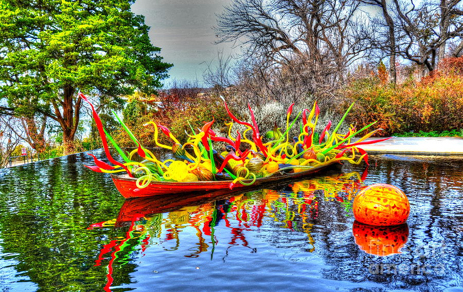 Boat Photograph - Reflective Boat by Debbi Granruth