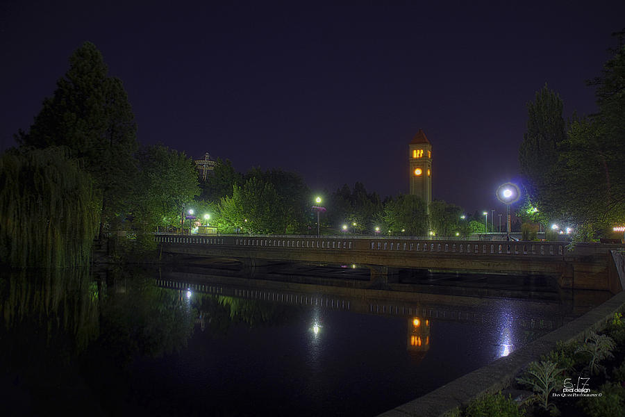 Spokane Riverfront Park Photograph - Reflective Calm by Dan Quam