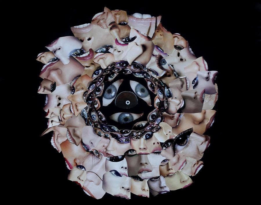 Reflective Mandala Mixed Media by Arvo Zylo