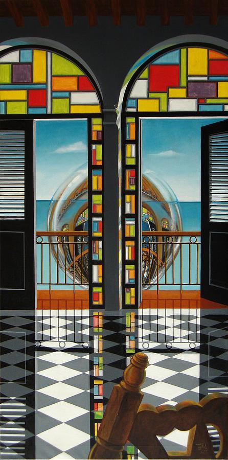 Reflejo de un sillon by Roger Calle