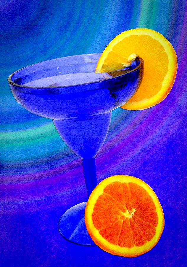 Orange Digital Art - Refreshing Drink by Cindy Haggerty