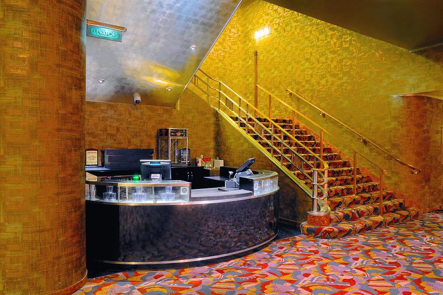 Radio City Music Hall Photograph - Refreshment Stand Radio City Music Hall by Dave Mills