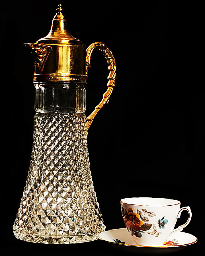 Decanter Photograph - Refresment by Camille Lopez