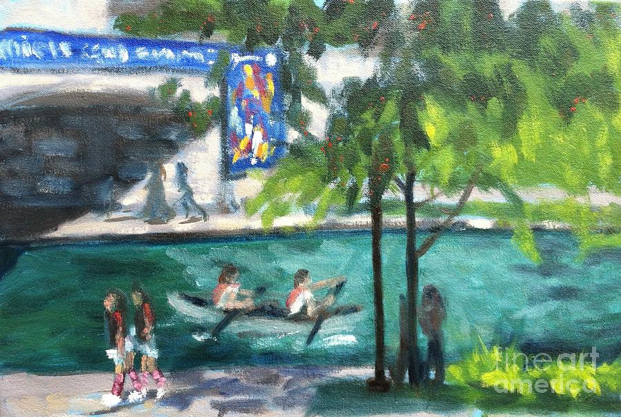 Regatta on the Canal by Katrina West