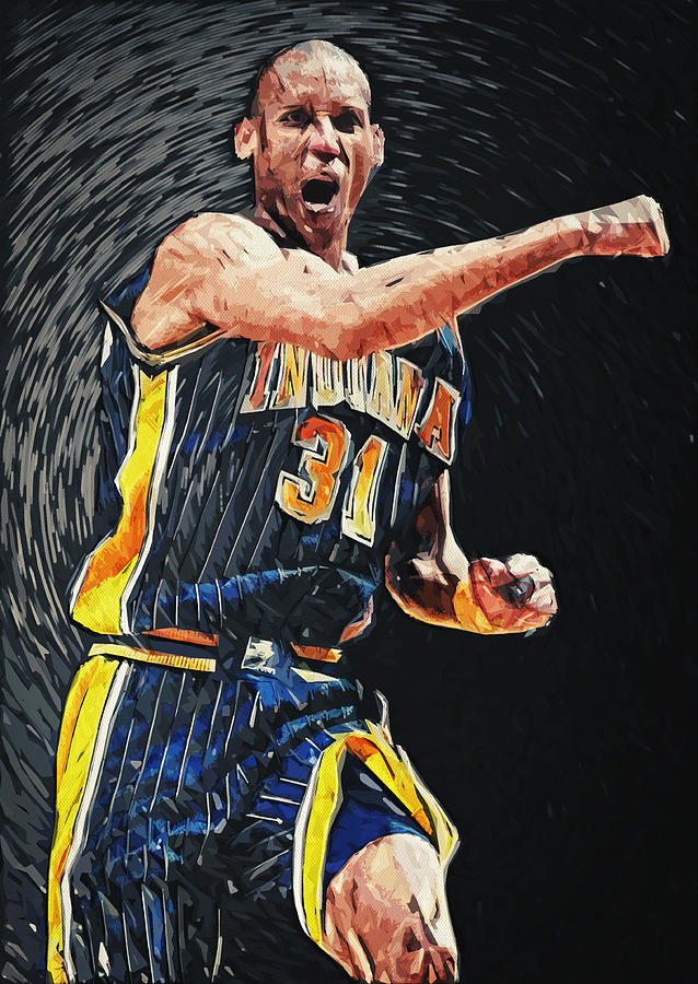 Reggie Miller Digital Art