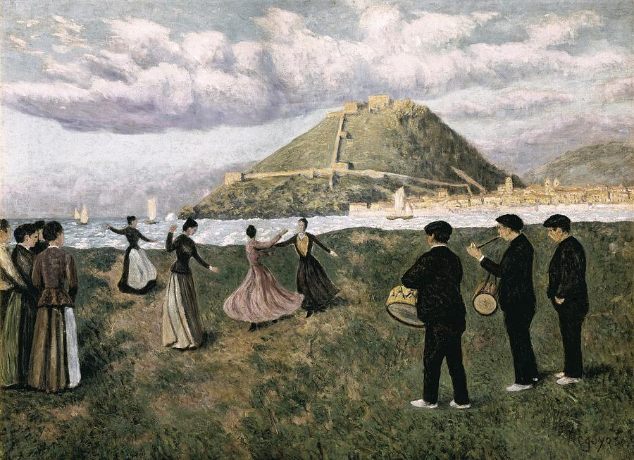Horizontal Photograph - Regoyos, Dar�o De 1875-1913. Basque by Everett
