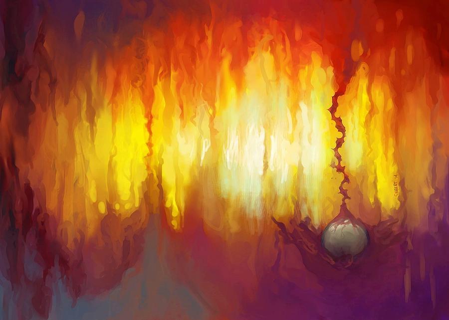 Regulus Painting - Regulus by Brian Gilbert