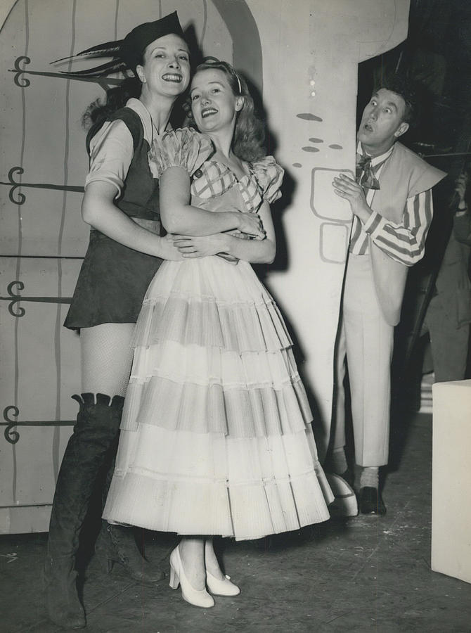 Retro Photograph - Rehearsal For ``dick Whittington� At The Palladium by Retro Images Archive