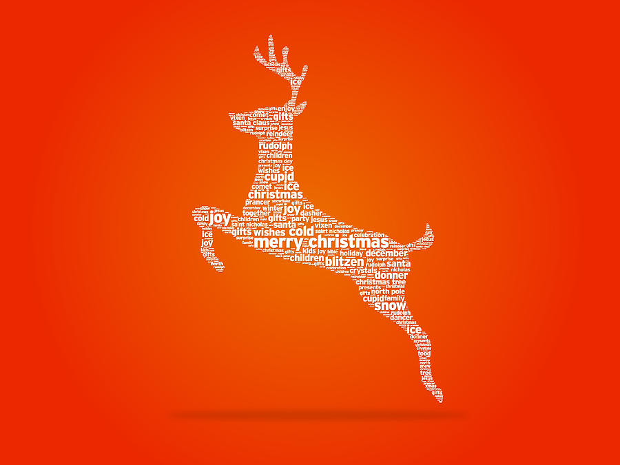 Reindeer Drawing - Reindeer by Aged Pixel
