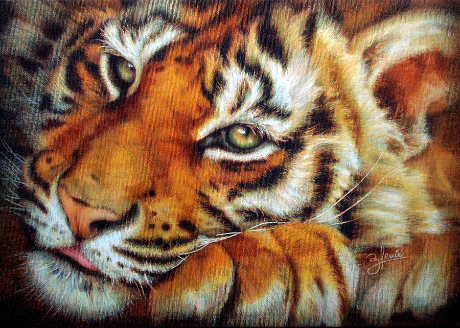 Colored Pencil Drawing - Rejavu by Bleuie  Acosta