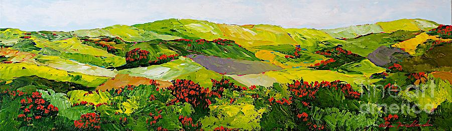 Landscape Painting - Rejoice Once Again by Allan P Friedlander