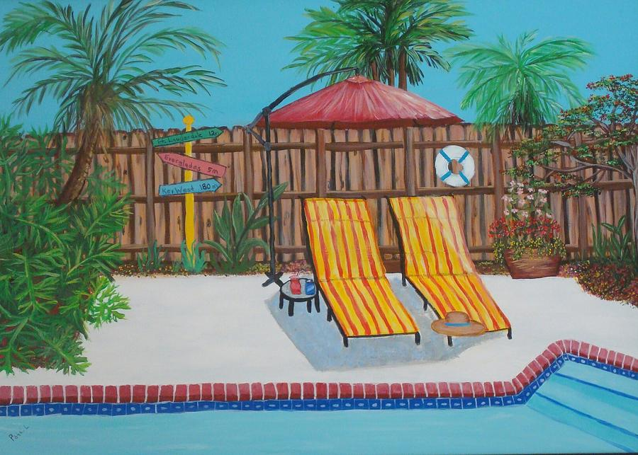 Relax Its The Weekend Painting by Patti Lauer