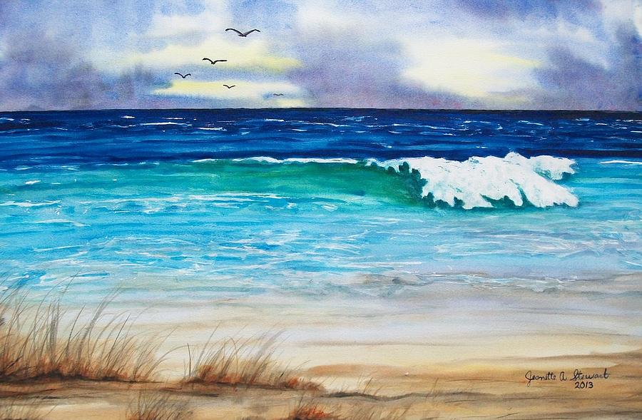 Seascape Painting - Relax by Jeanette Stewart
