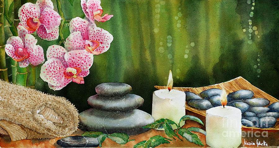 Still Life Painting - Relax by Marisa Gabetta