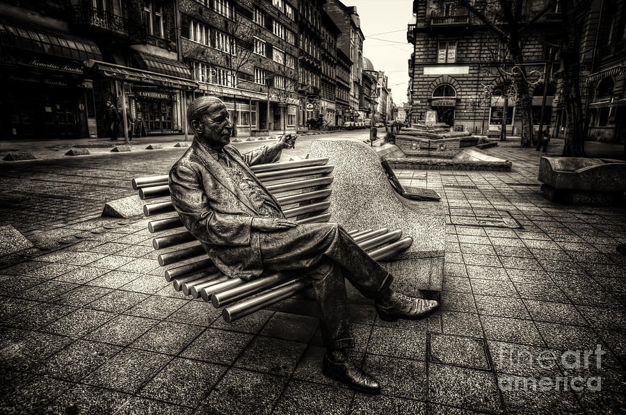 Budapest Photograph - Relax by Mohamed Rahmo
