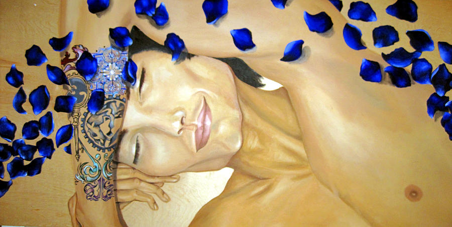Oil Painting - Relaxed by Stephanie LeVasseur