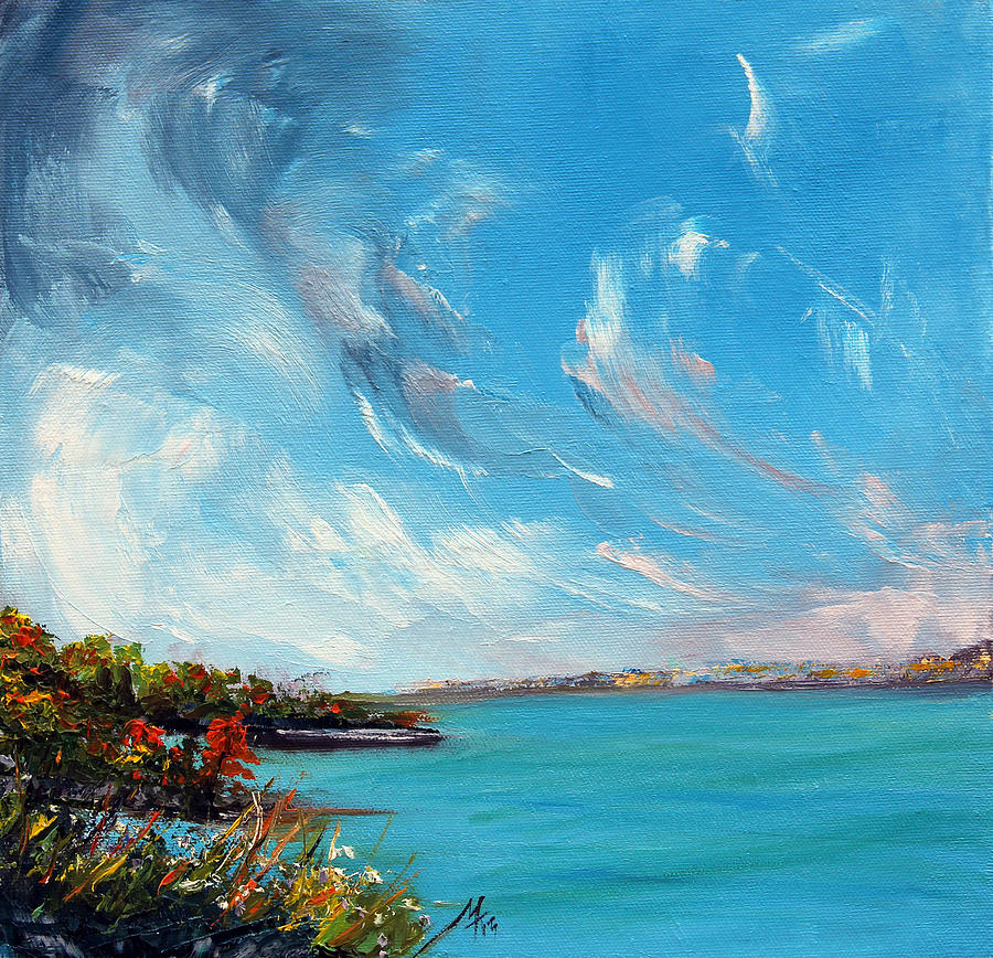 Lake Painting - Relentless Grace by Meaghan Troup
