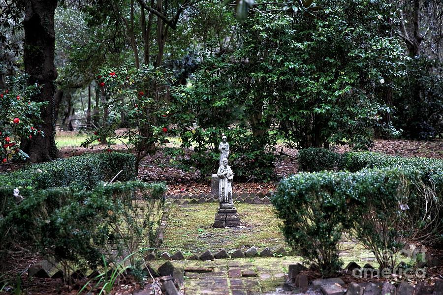 Garden Photograph - Religion In The Garden by John Rizzuto