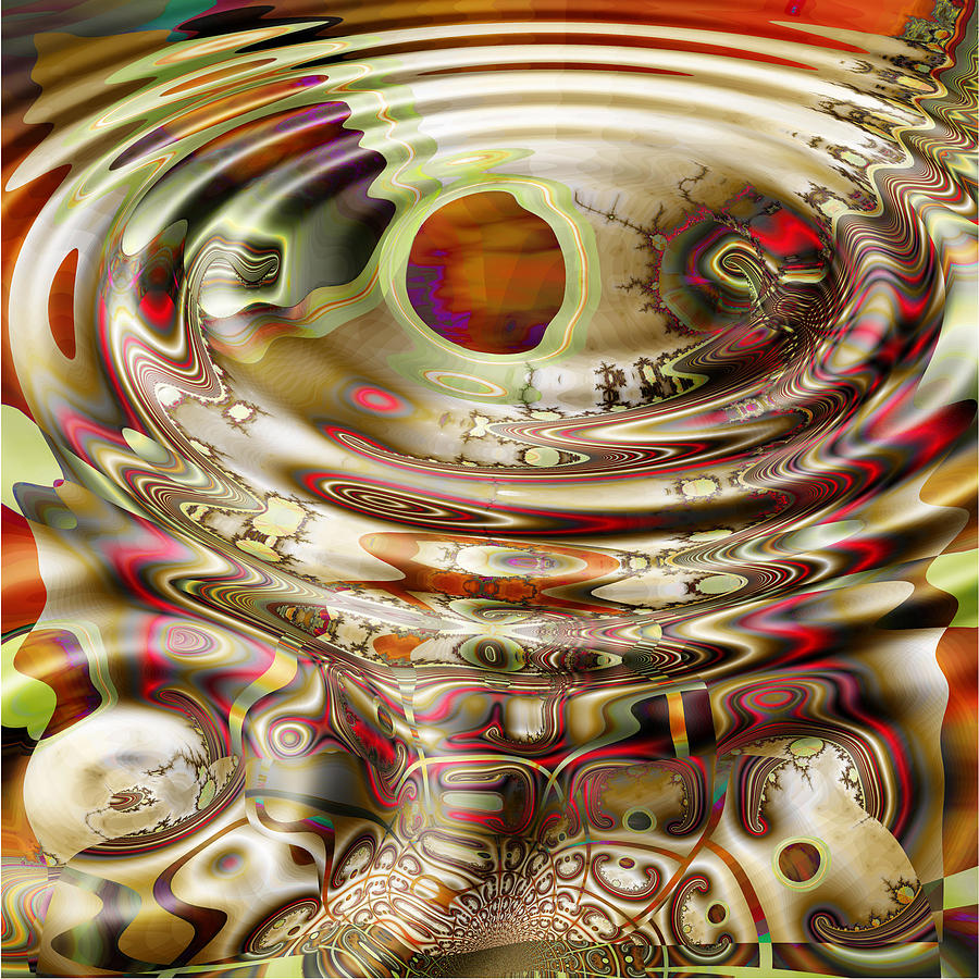 Abstract Digital Art - Rem Dreams by Wendy J St Christopher