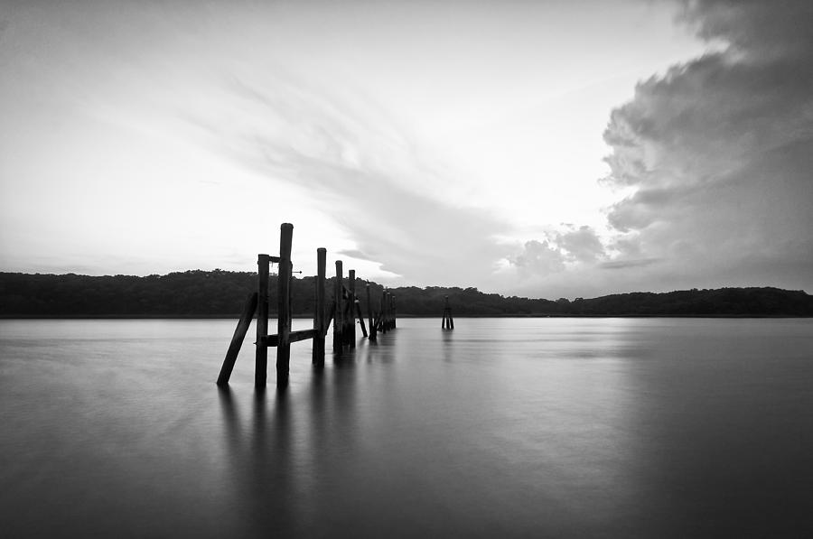 Black And White Photograph - Remains by Lee Costa