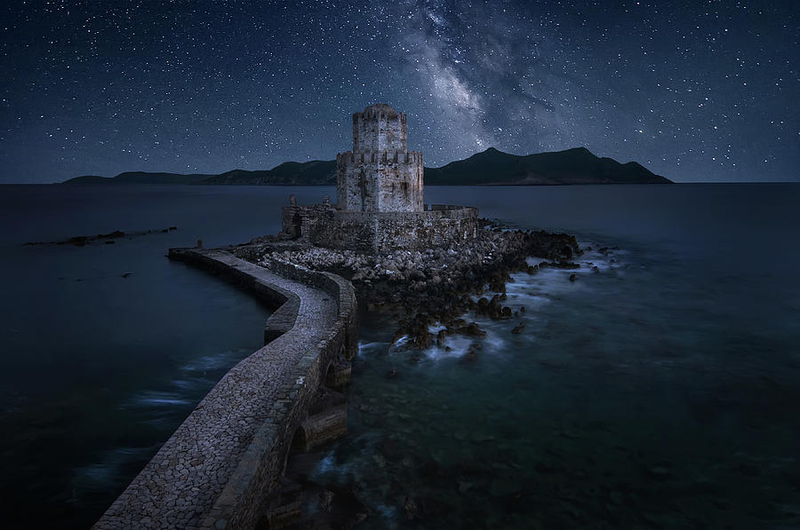 Castle Photograph - Remains Of The Past by
