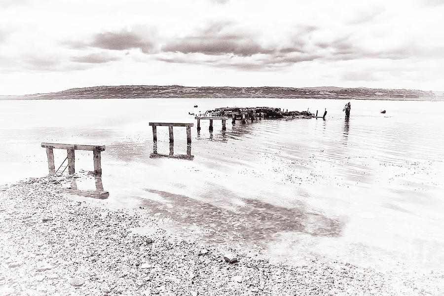 Remains Of The Pier by Kate McKenna