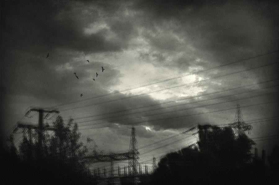 Electricity Wires Photograph - Remember by Taylan Apukovska