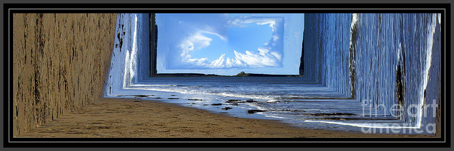 Castle Photograph - Remember When The World Was Flat by Malcolm Suttle