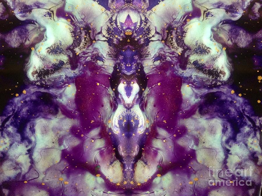 Mirror Image Photograph - Remember You Are Divine by Denise Nickey