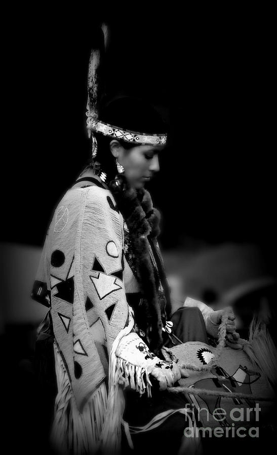 Native American Photograph - Remembering Ancestors by Scarlett Images Photography