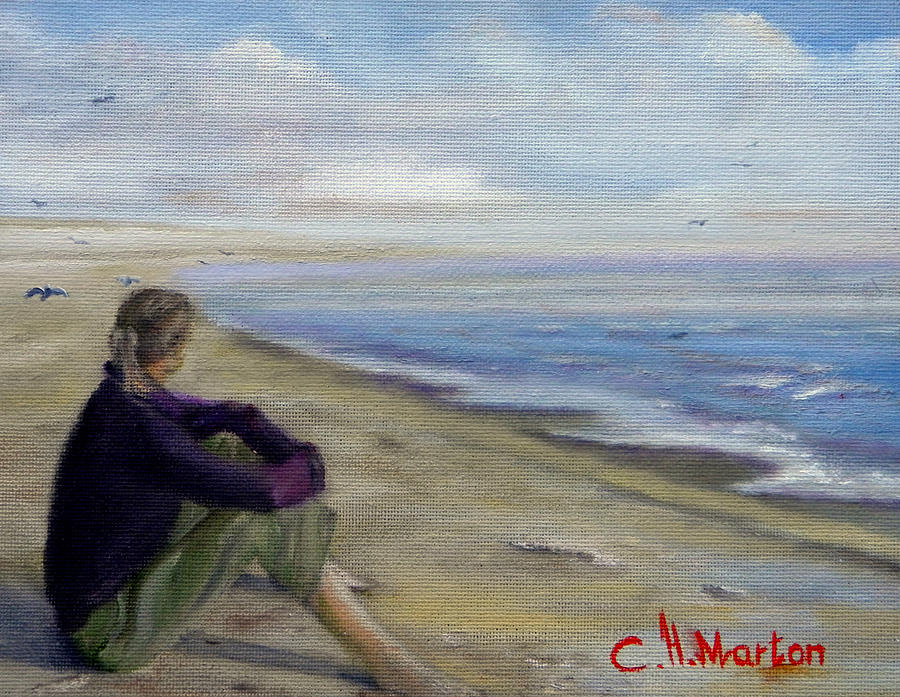 Remembering Painting by Clara H Marton