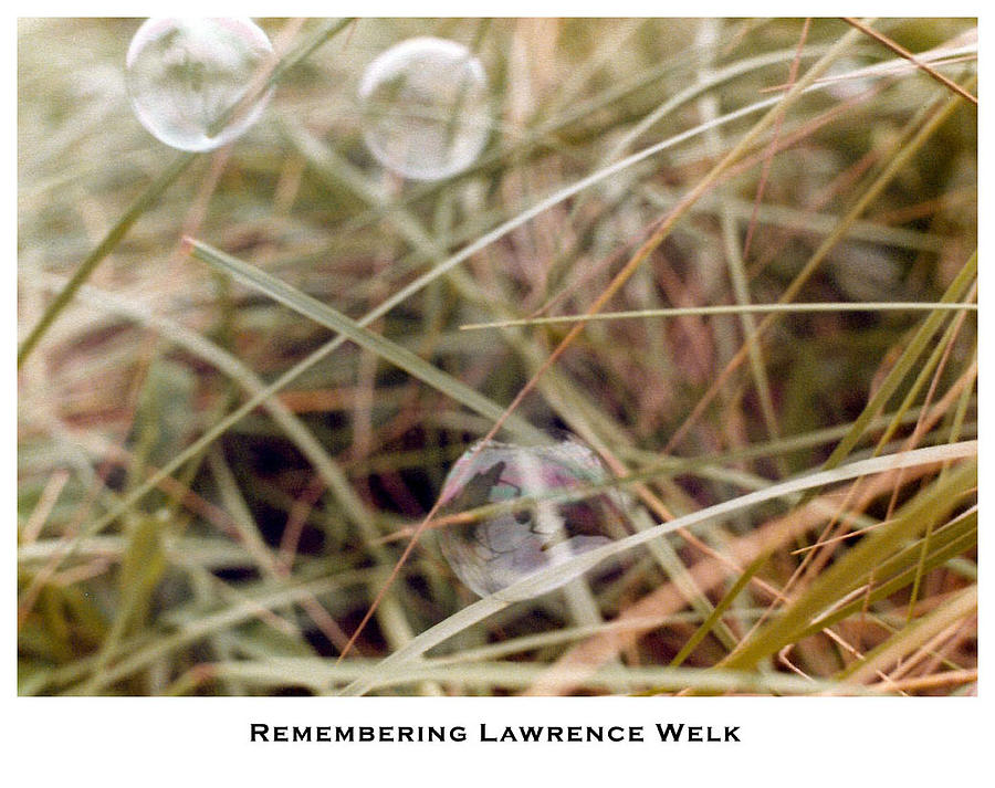 Fantasy Photograph - Remembering Lawrence Welk by Lorenzo Laiken