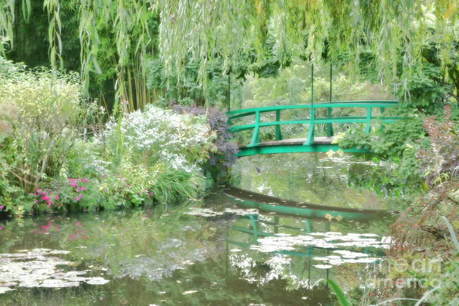 France Photograph - Remembering Monet  by Olivier Le Queinec