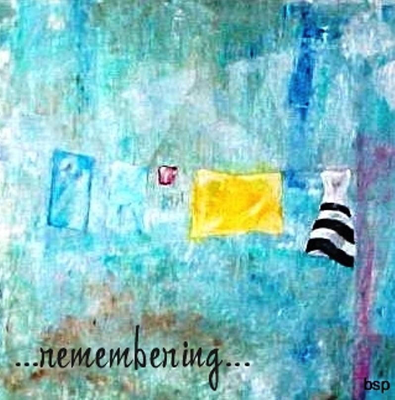 Backstreetpoet Painting - Remembering by Robert Stagemyer
