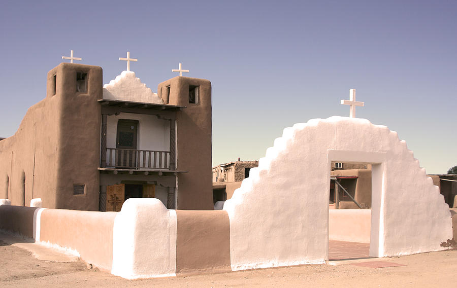Taos Photograph - Remembering The Pueblo by Heidi Hermes