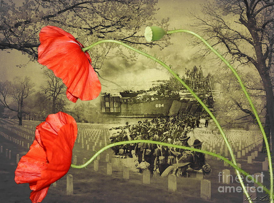 Remembrance Day Digital Art - Remembrance by Linda Lees