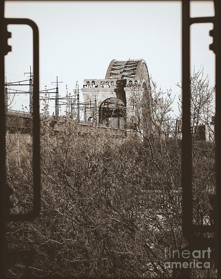 Tressle Photograph - Reminiscent Of Earlier Travel by James Aiken