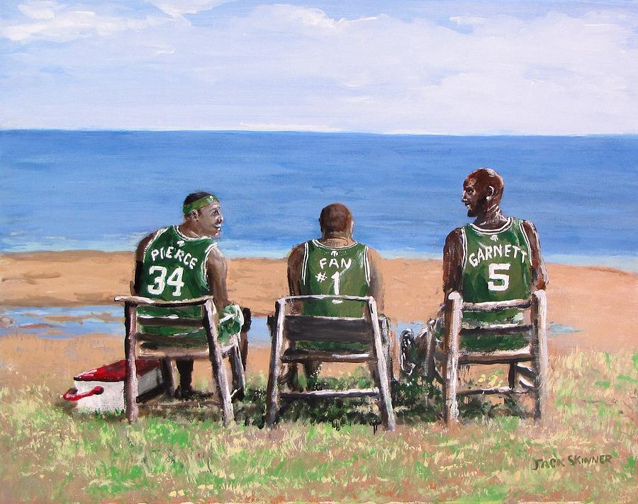 Boston Painting - Reminiscing The Good Old Days by Jack Skinner
