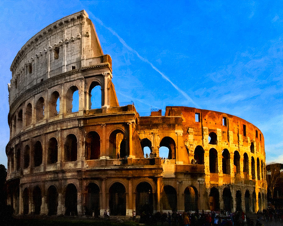 The Colosseum Photograph By