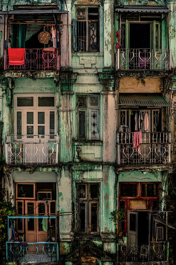 Facade Photograph - Remnants Of Another Era by Marcus Blok
