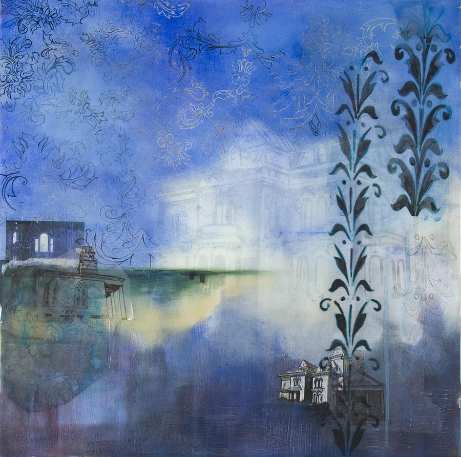 Haunted Painting - Remnants Of The Vanished by Stacey Sherman